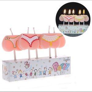 5 Set Bikini Bottom Candles